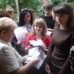 Сегодня абитуриенты проходят тестирование по иностранным языкам