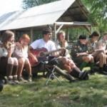 В Карпатах начал работу летний выездной лагерь