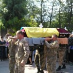 В Заставнивском районе простились с погибшим Петром Танасійчуком