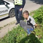Дети помогли черновицким патрульным найти подозреваемого