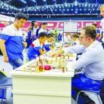 Суперстарт Украины на шахматной Олимпиаде: пять туров – пять побед!