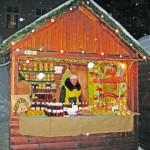 На Рождественской ярмарке можно съесть «хот-пес» и выпить «гльогу»