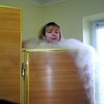 Три минуты в морозильной камере