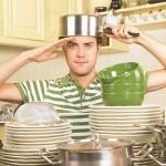 Человек в «женской тарелке»