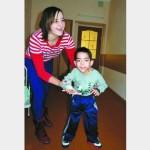 В девять лет Игорек едва весил 13 килограммов…