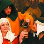 В Средневековье пили розовый компот