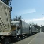 """Через ЧП """"Порубное"""" не пропускают грузовые авто"""