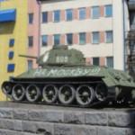Автору надписи На Москву! на танке Никитина в Черновцах может грозить штраф