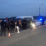 Водитель маршрутки с пассажирами удирал от полиции в Черновицкой области