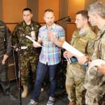 Павел Табаков и бывший СБУшник написали песню для воинов